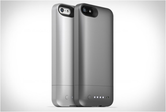 Extra battery power by Mophie.